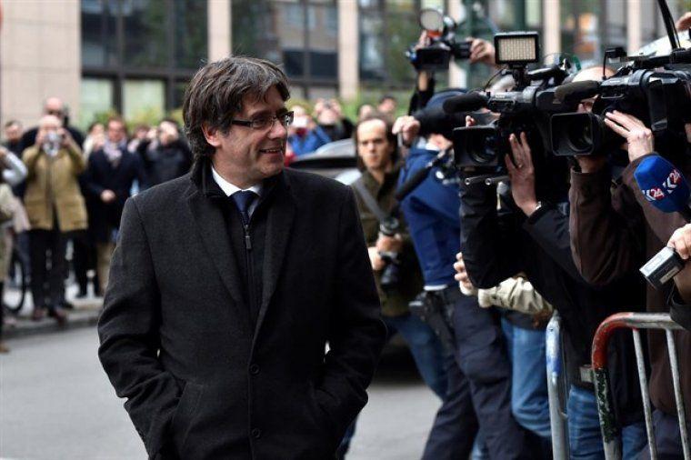 Carles Puigdemont a Bèlgica
