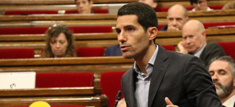 El diputat de Cs Nacho Martín Blanco
