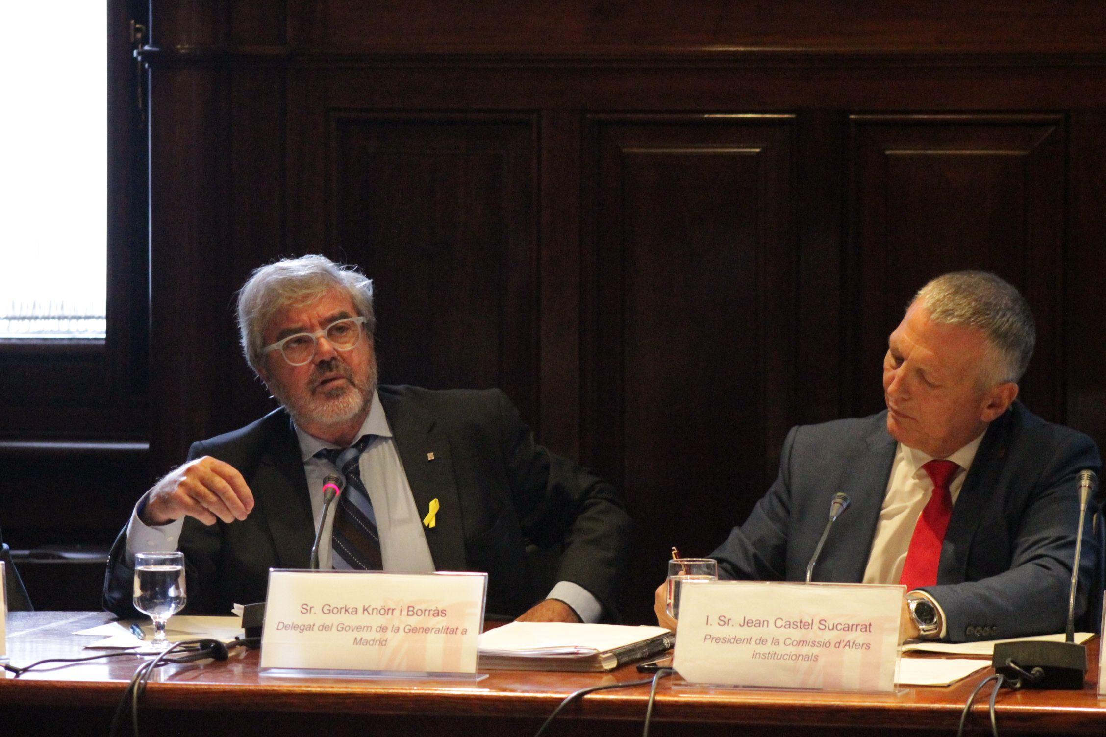 Gorka Knörr al Parlament de Catalunya (PC)