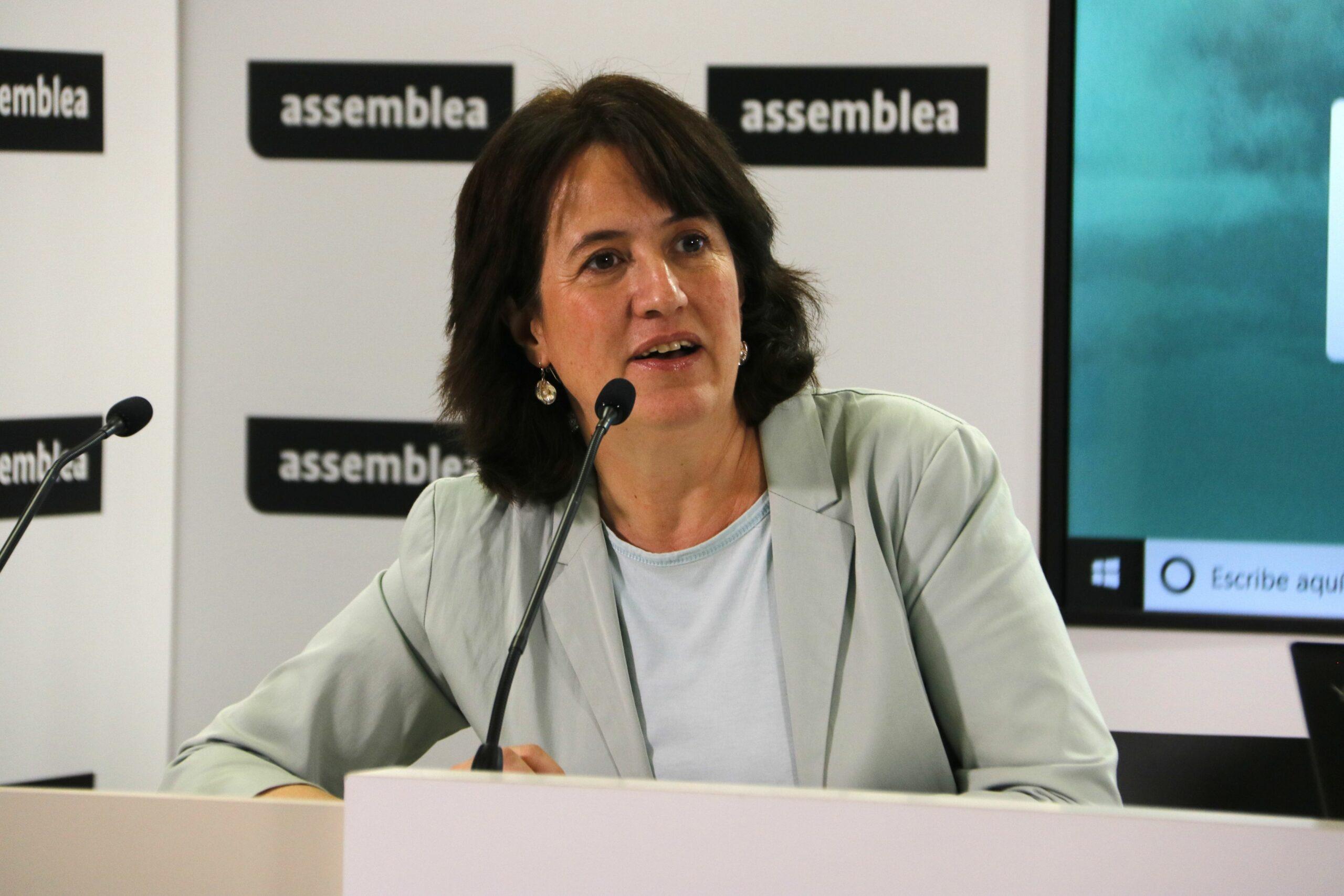 Elisenda Paluzie, presidenta de l'Assemblea Nacional Catalana (ANC)