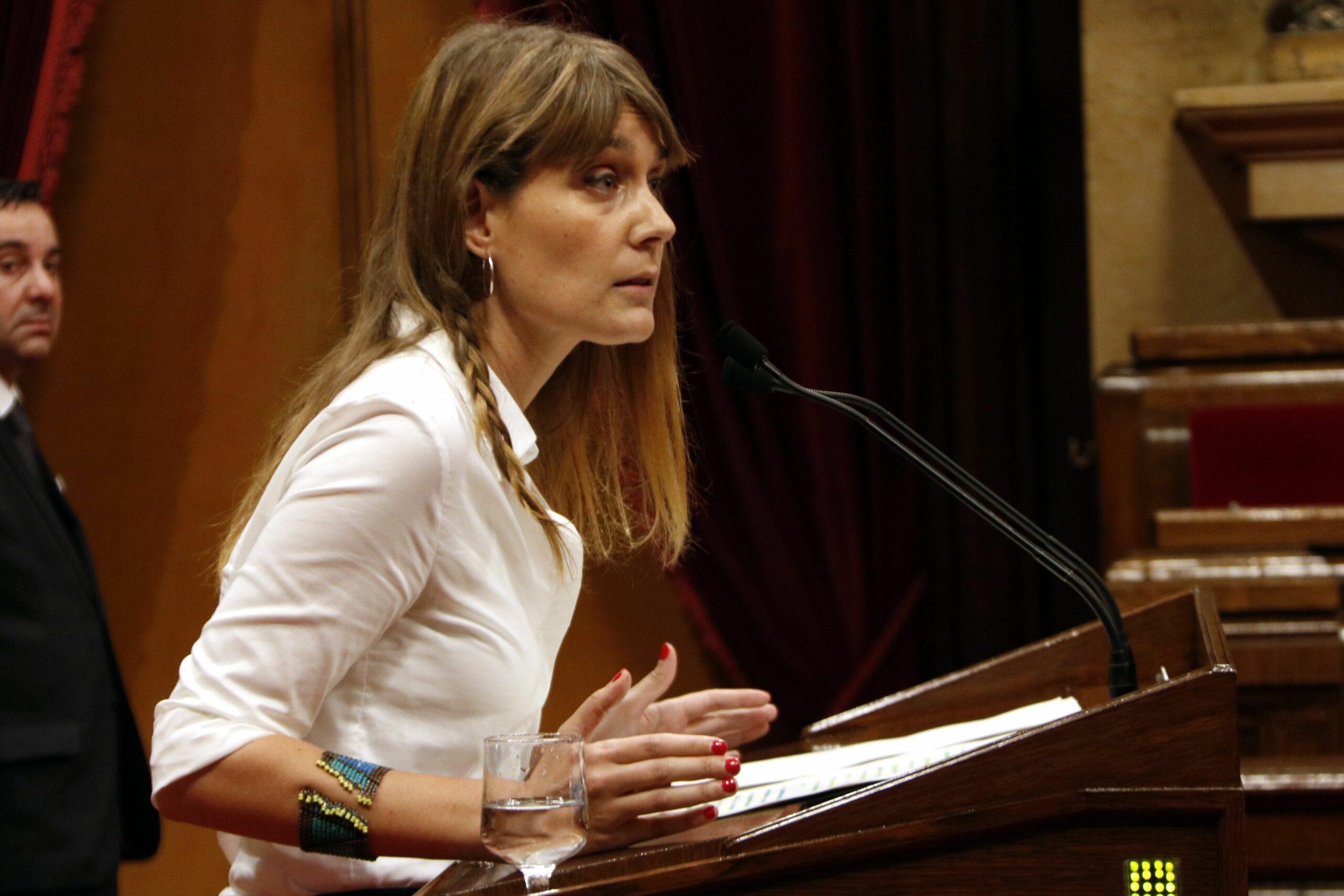 La diputada de Catalunya en Comú Jéssica Albiach