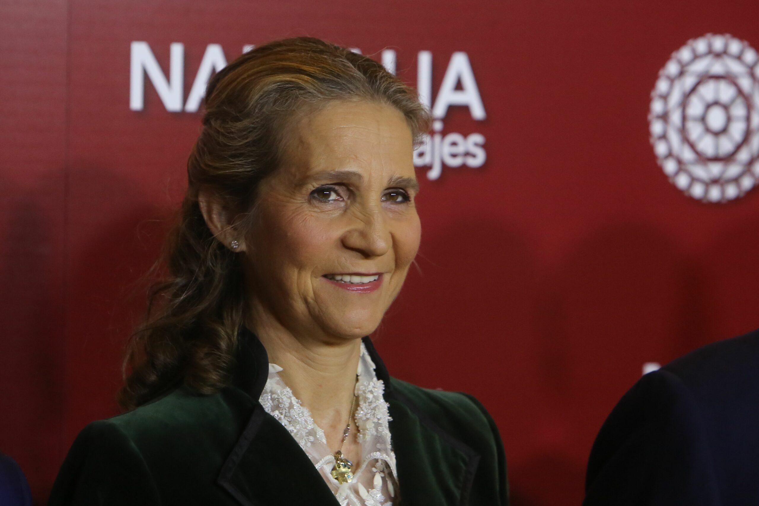 Elena de Borbó, en un acte públic / Europa Press