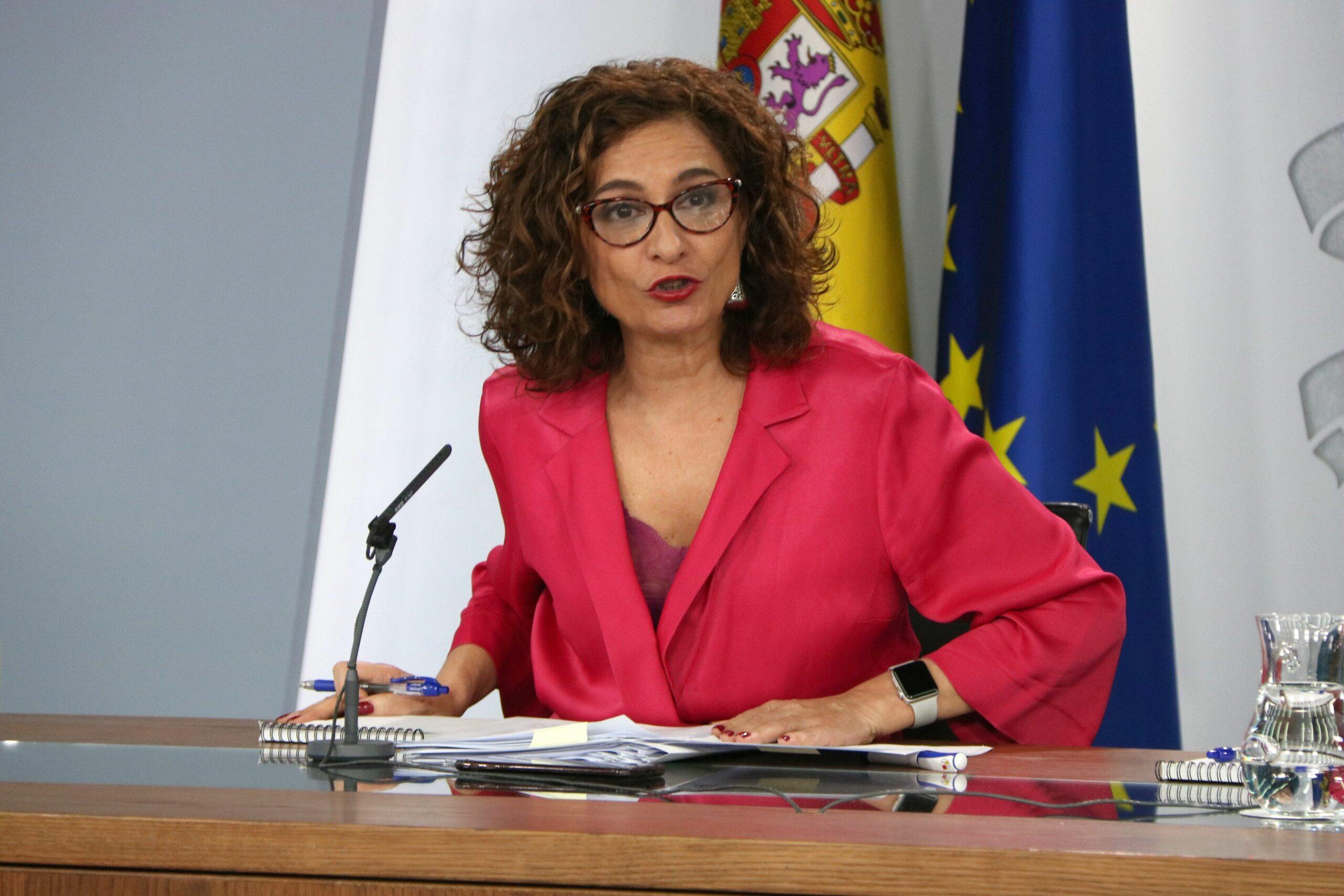 La ministra espanyola d'Hisenda, Maria Jesús Montero | ACN