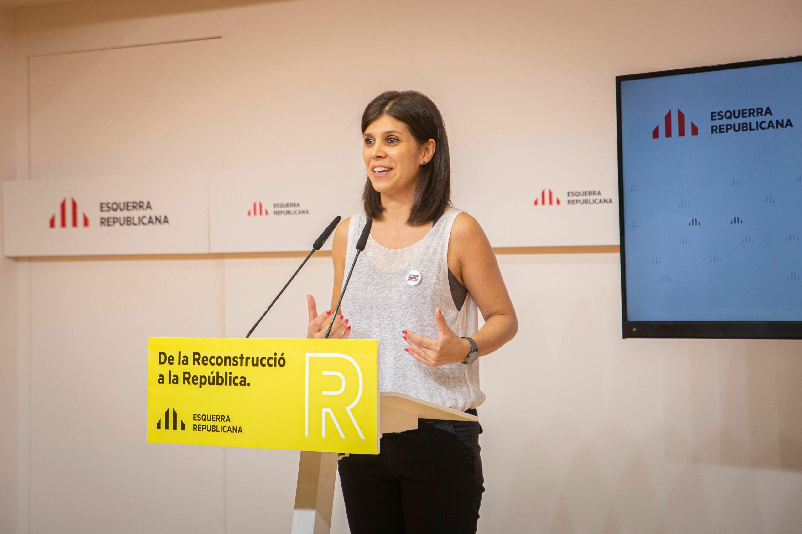 La secret?ria general adjunta d'ERC, Marta Vilalta