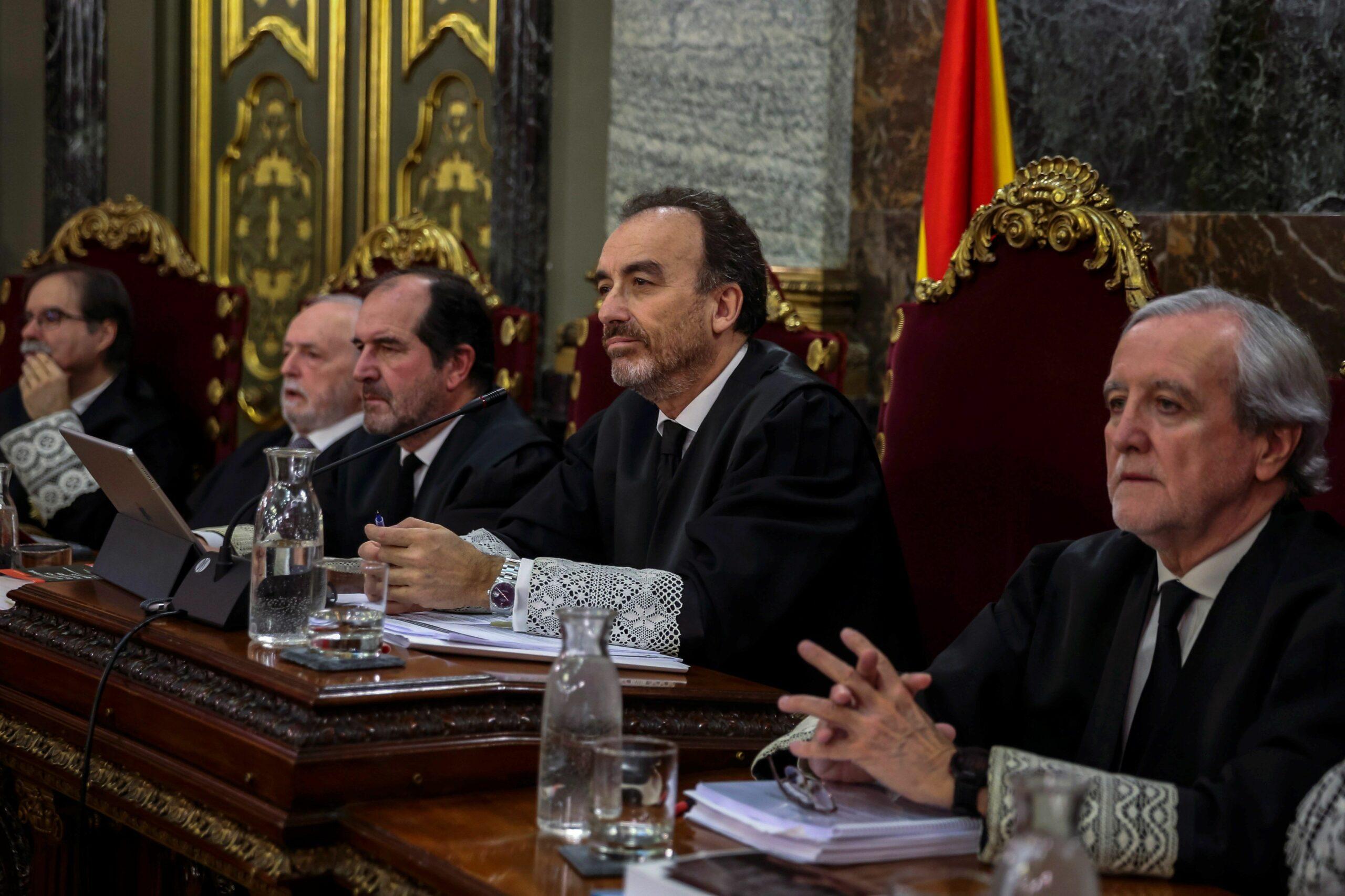 El magistrat Manuel Marchena, presidint la sala