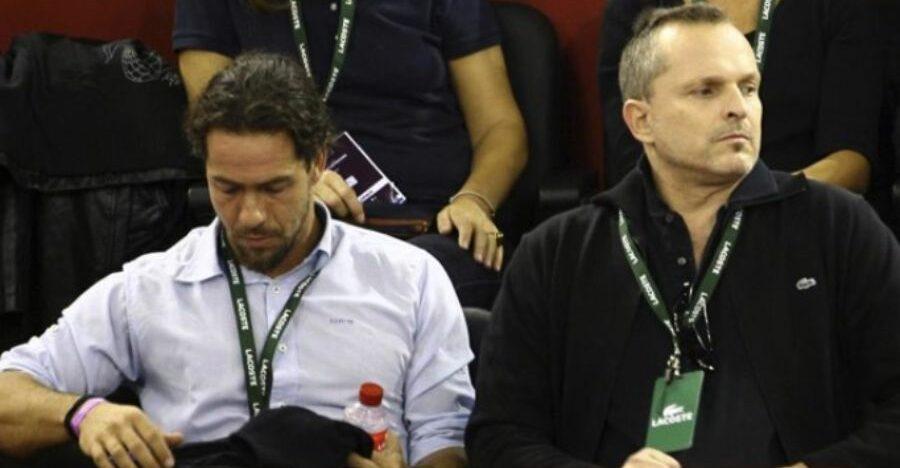 Nacho Palau i Miguel Bosé en una foto d'arxiu  / Europa Press