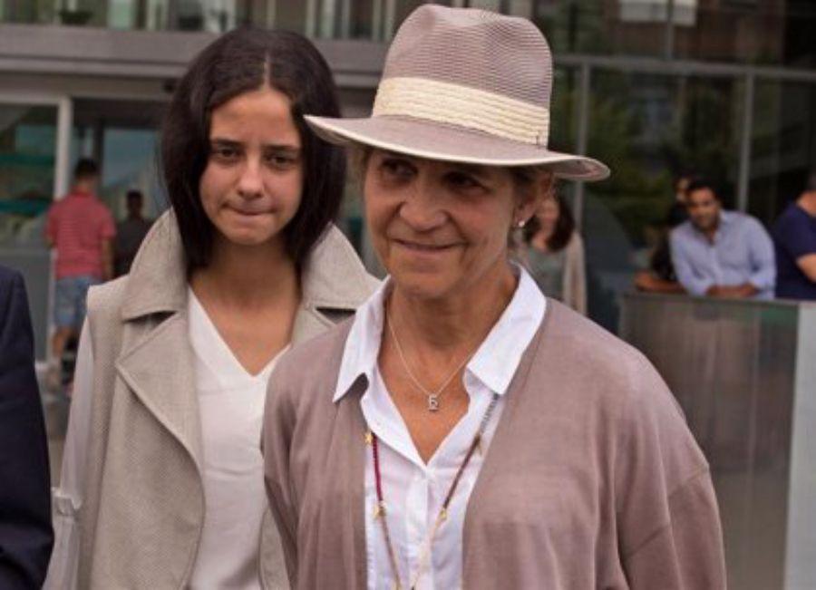 Elena de Borbó, amb la filla   Europa Press