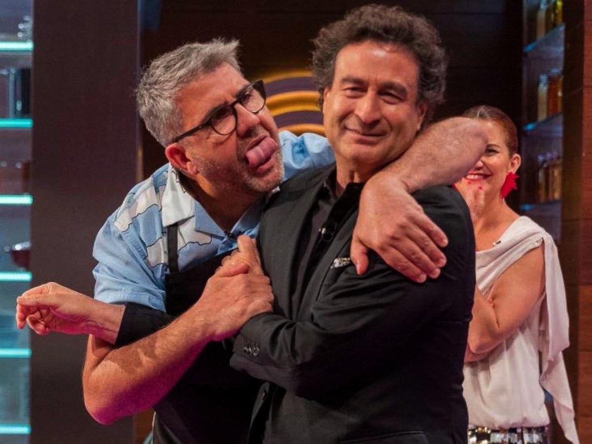 Florentino Fernández fa broma amb Pepe a 'Masterchef'   TVE