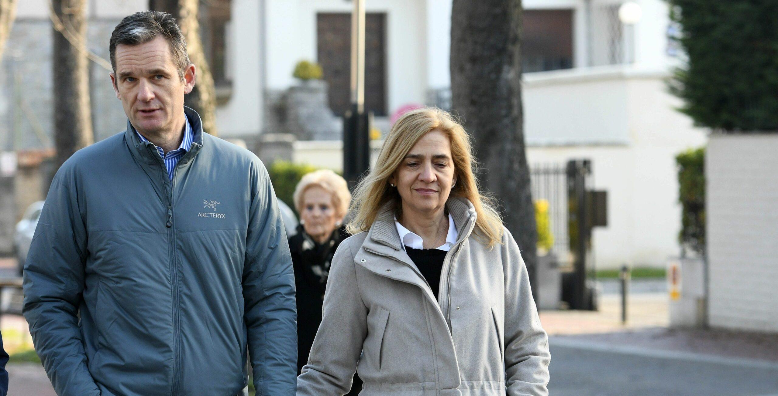 Iñaki Urdangarin i Cristina, germana del rei d'Espanya a Vitòria, en una imatge recent / Europa Press