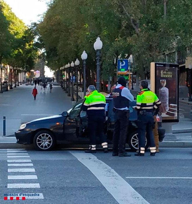 Una imatge de la detenció de Tarragona/MossosCT
