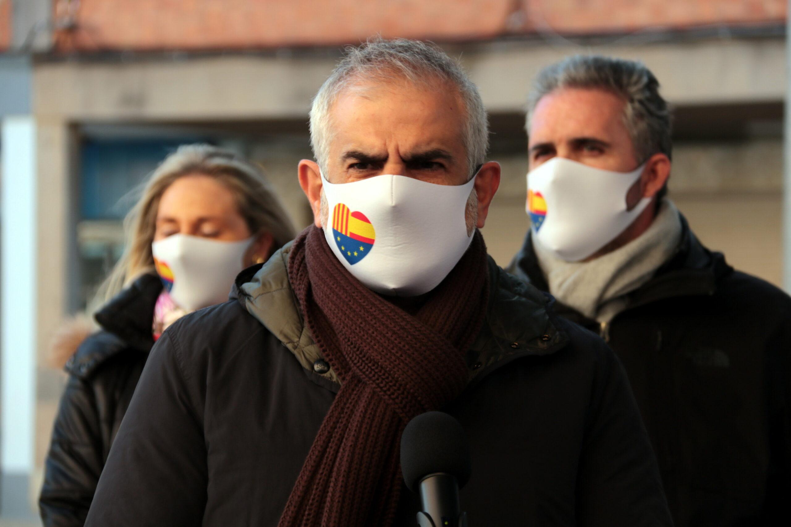 El líder de Cs a Catalunya, Carlos Carrizosa   ACN