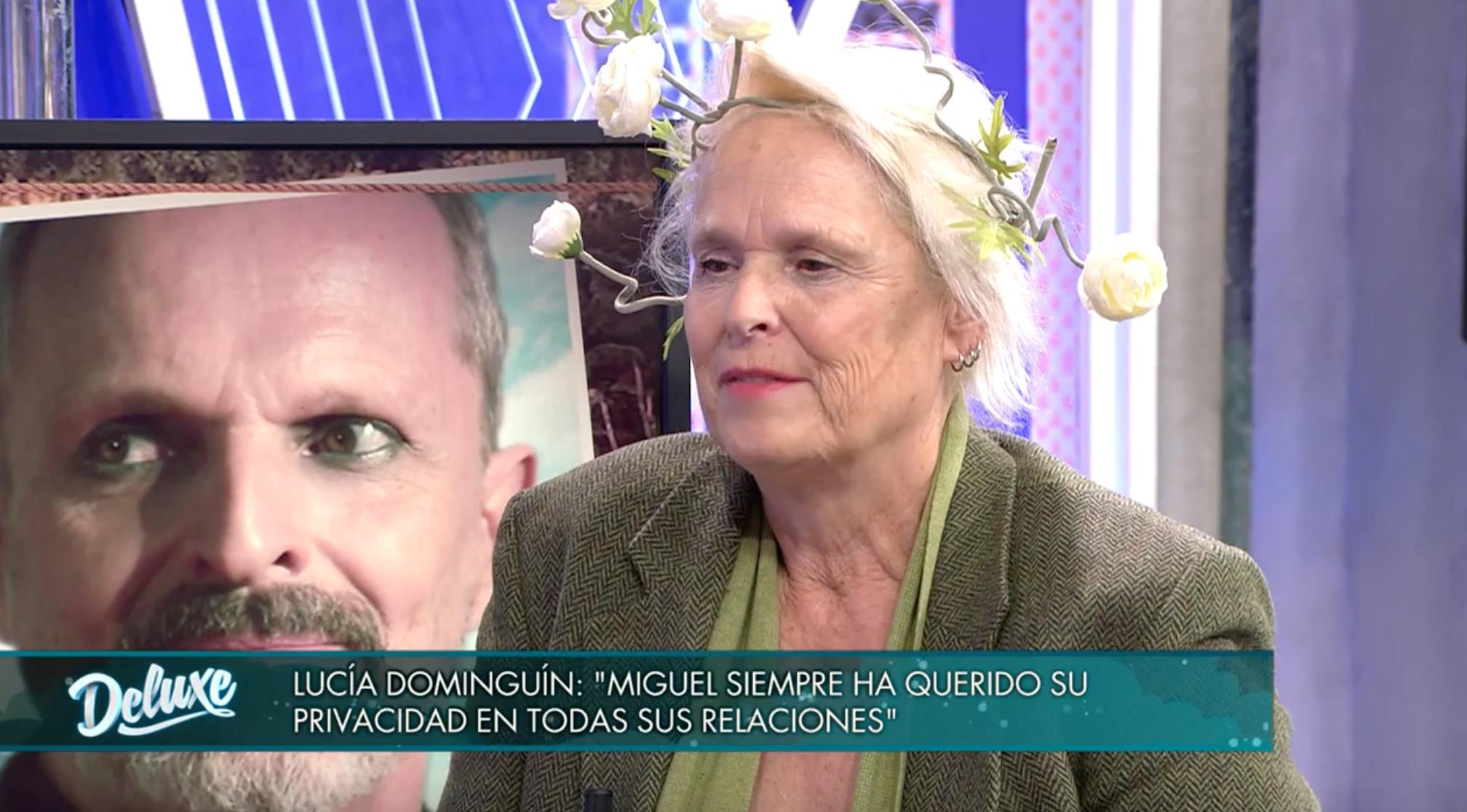 Lucía Dominguín en 'Domingo Deluxe' | Telecinco<