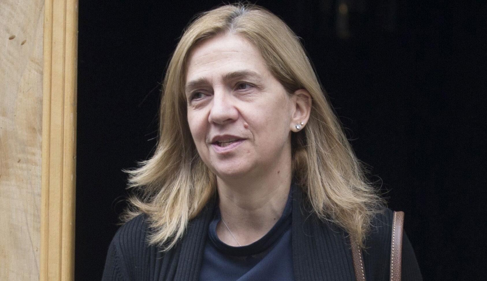 La infanta Cristina, a la sortida de la casa de Ginebra - Europa Press