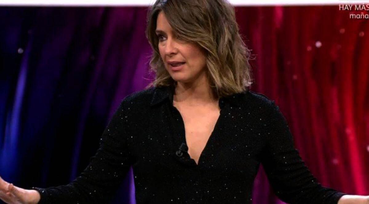 Sandra Barneda posa pau en directe - Telecinco