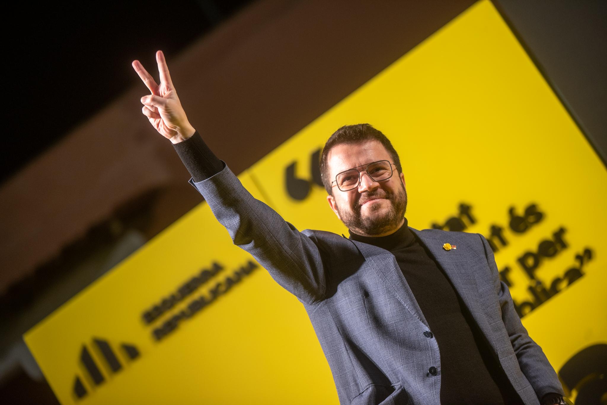 El cap de llista d'ERC, Pere Aragonès | ACN