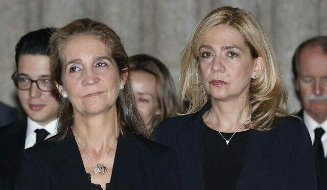 Elena i Cristina de Borbó   Europa Press