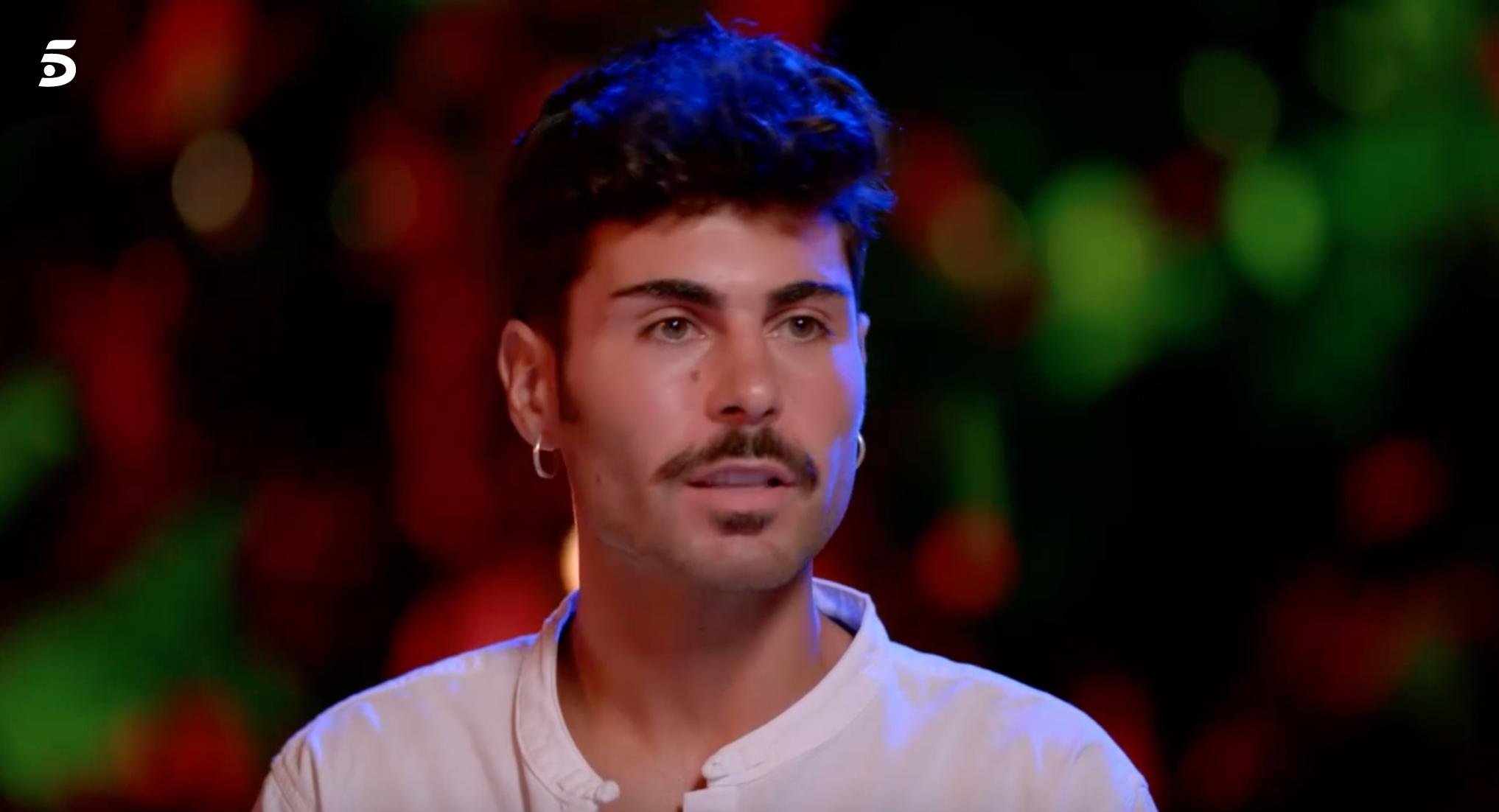 Hugo, de 'La isla de las tentaciones'   Telecinco