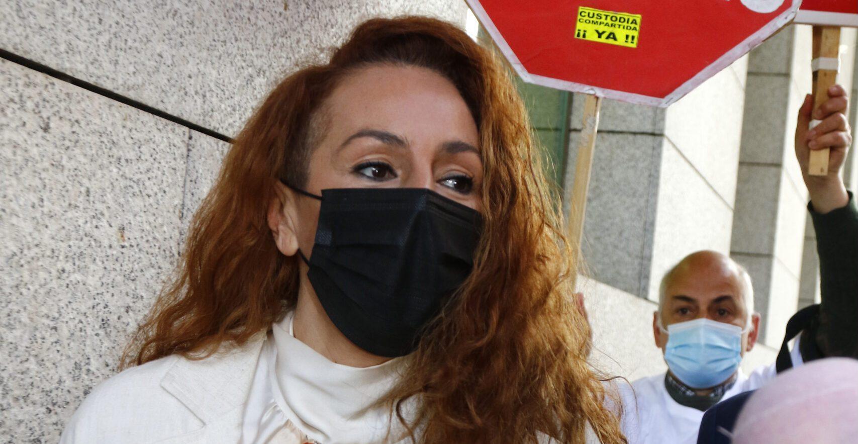Rocío Carrasco acude al juicio por la demanda civil interpuesta por Antonio David Flores por impago de la pensión de sus hijos, a 30 de abril de 2021, en Madrid, (España). ROCIO CARRASCO;JUZGADOS;JUICIO;PENSION;MANUTENCION;ANTONIO DAVID FLORES;30 ABRIL 2021 José Ramón Hernando / Europa Press 30/4/2021