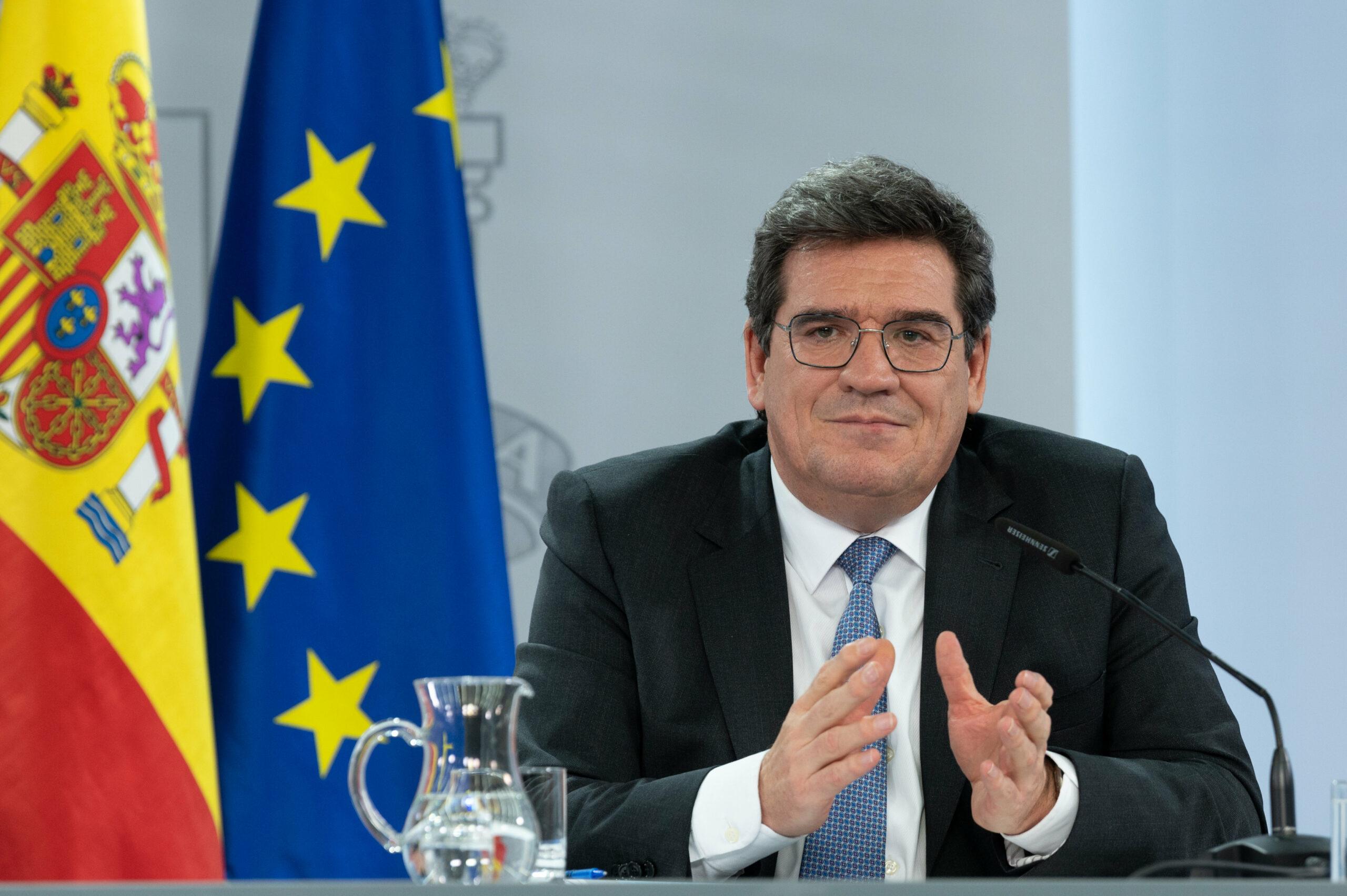 El ministre espanyol d'Inclusió, Seguretat Social i Migracions, José Luis Escrivá, el 2 de febrer del 2021 / ACN