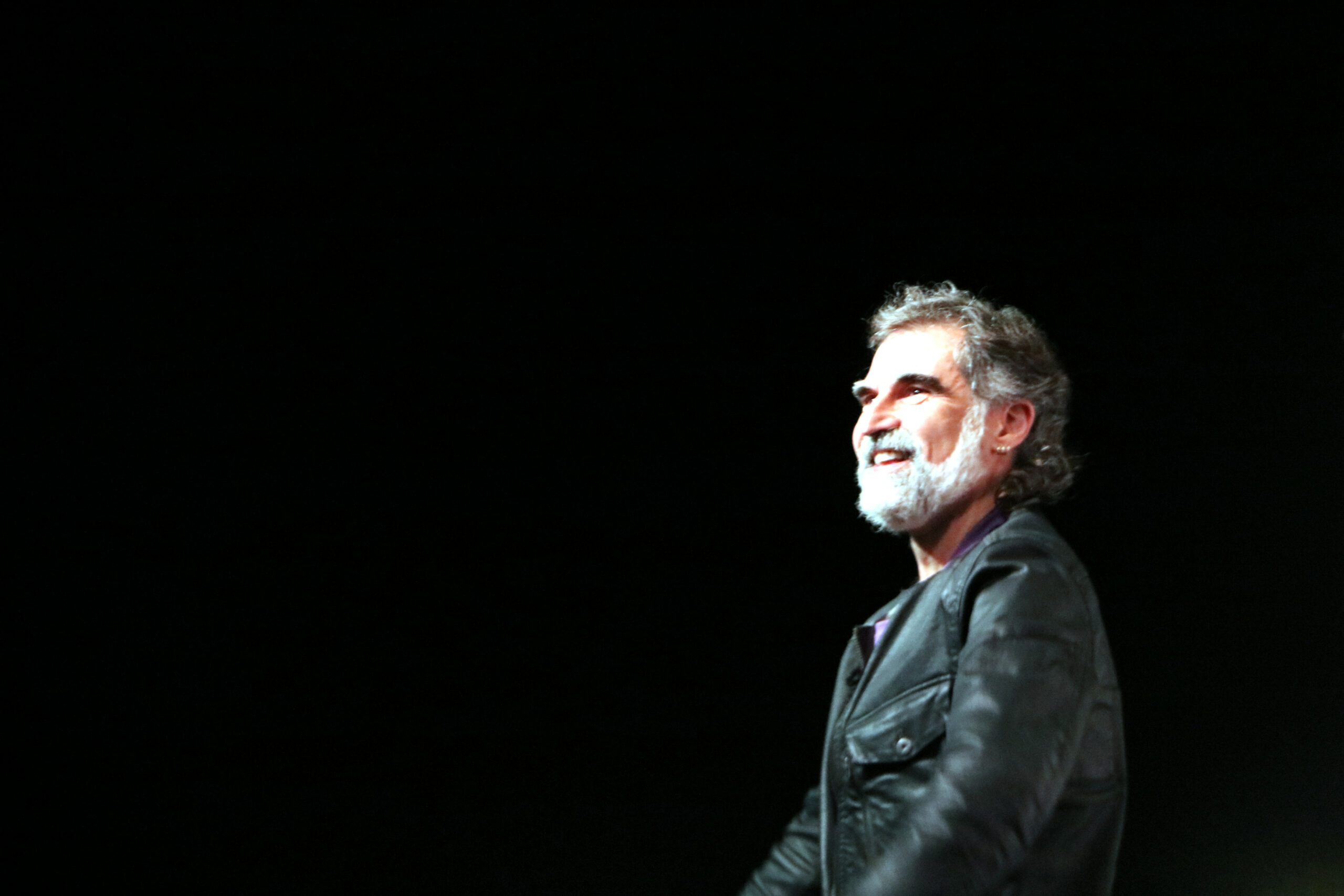 Jordi Cuixart a l'entrada de Lledoners   ACN