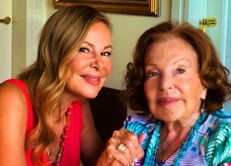 Ana Obregón, amb la mare - Instagram