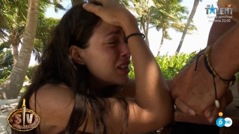 Melyssa Pinto plora a 'Supervivientes' - Telecinco