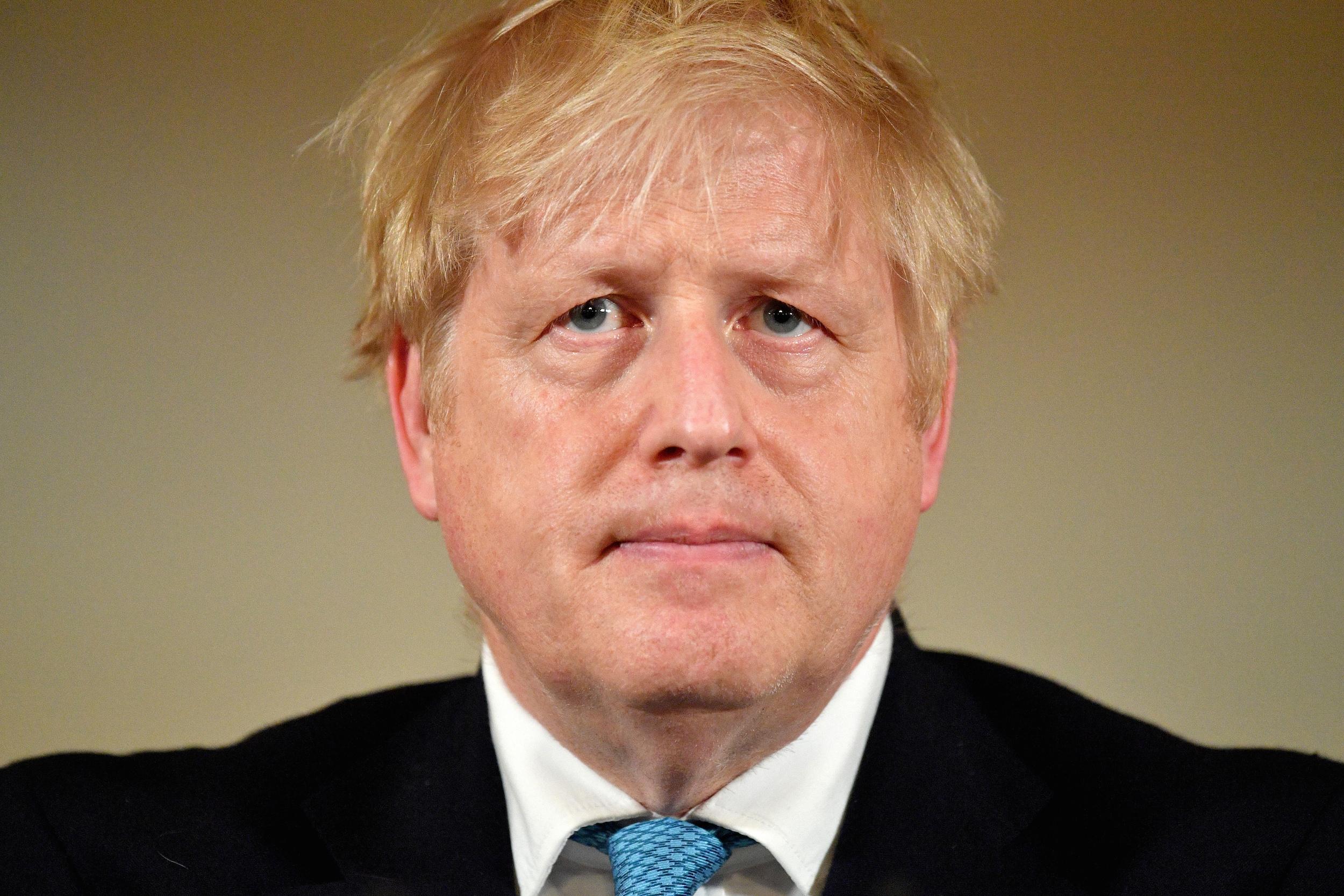 El primer ministre britànic, Boris Johnson, durant una conferència de premsa sobre el coronavirus a 10 Downing Street, Londres, el 19 de març del 2020 / ACN