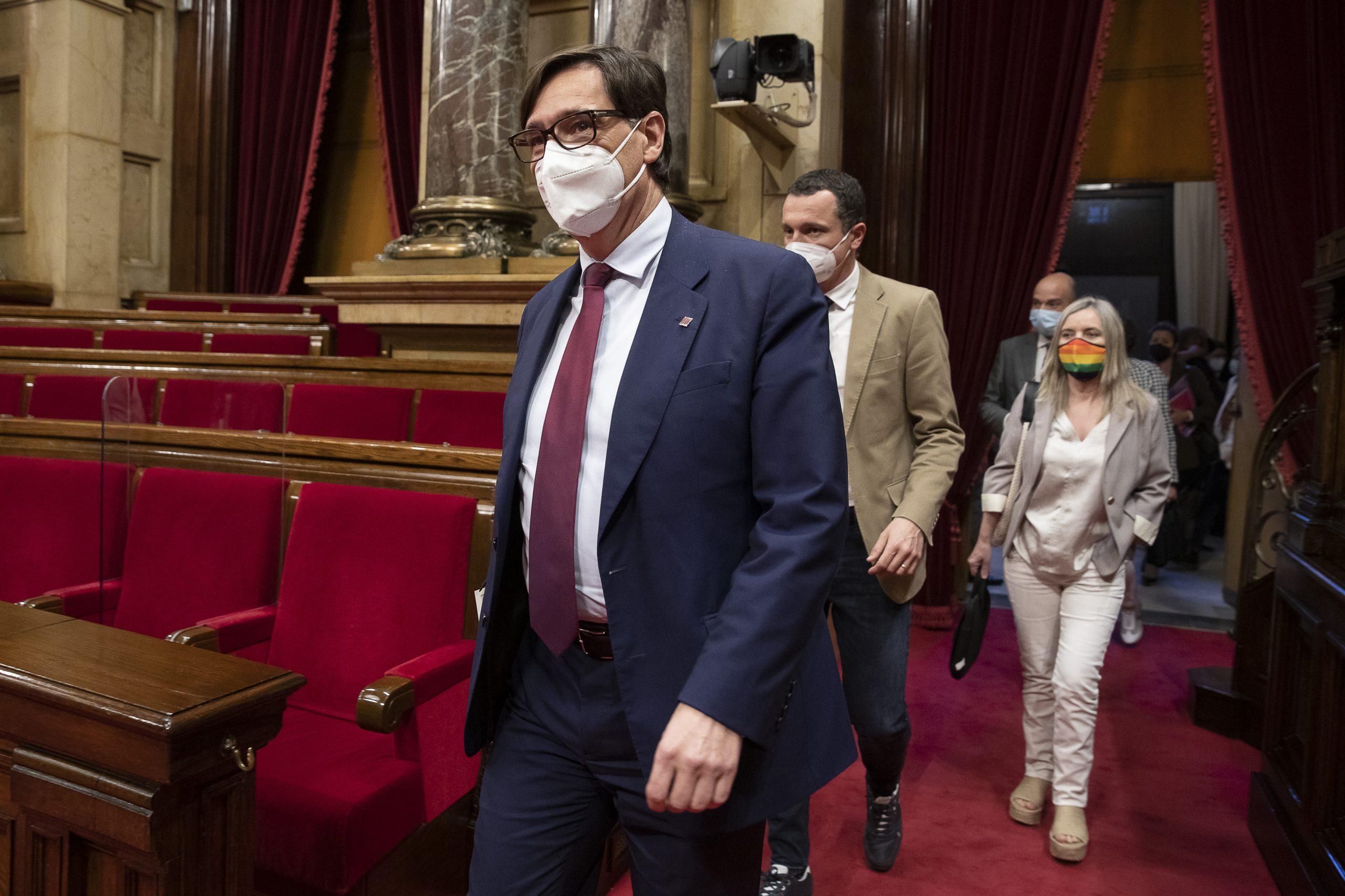 20.05.2021, Barcelona Debat d'investidura de Pere Aragonès com a President de la Generalitat al Parlament de Catalunya.  foto: ACN/Jordi Play