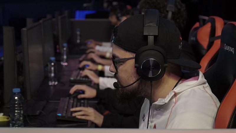 Jugador competint a la Logitech G Challenge 2019 / LVP