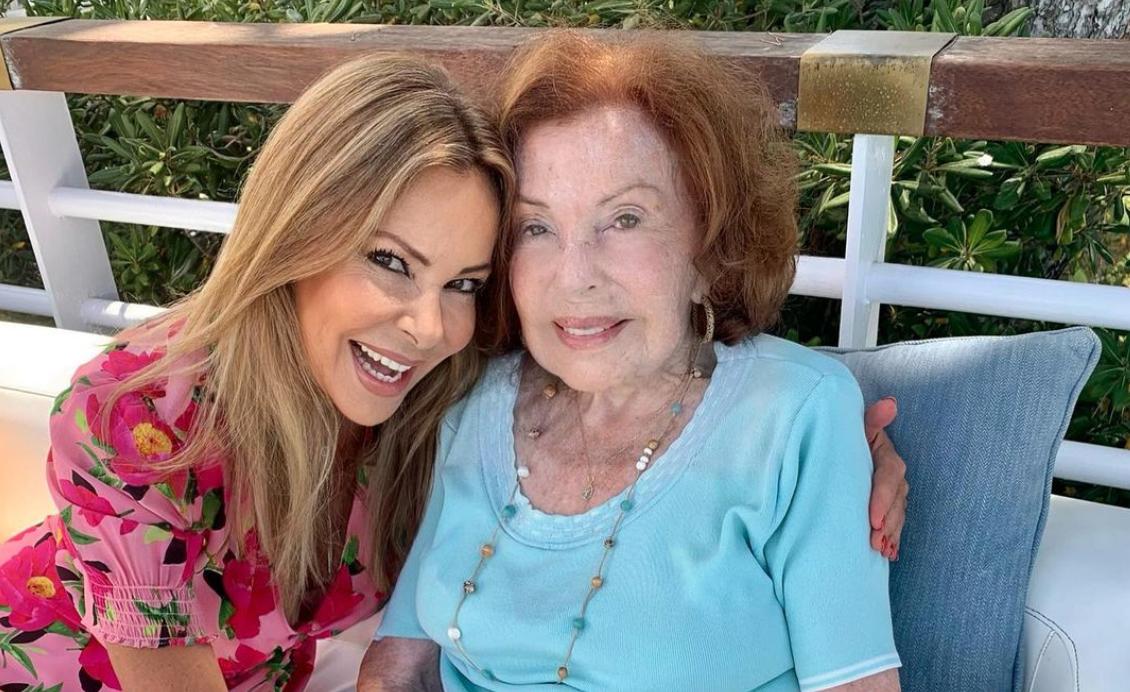 Ana Obregón i la seva mare | Instagram