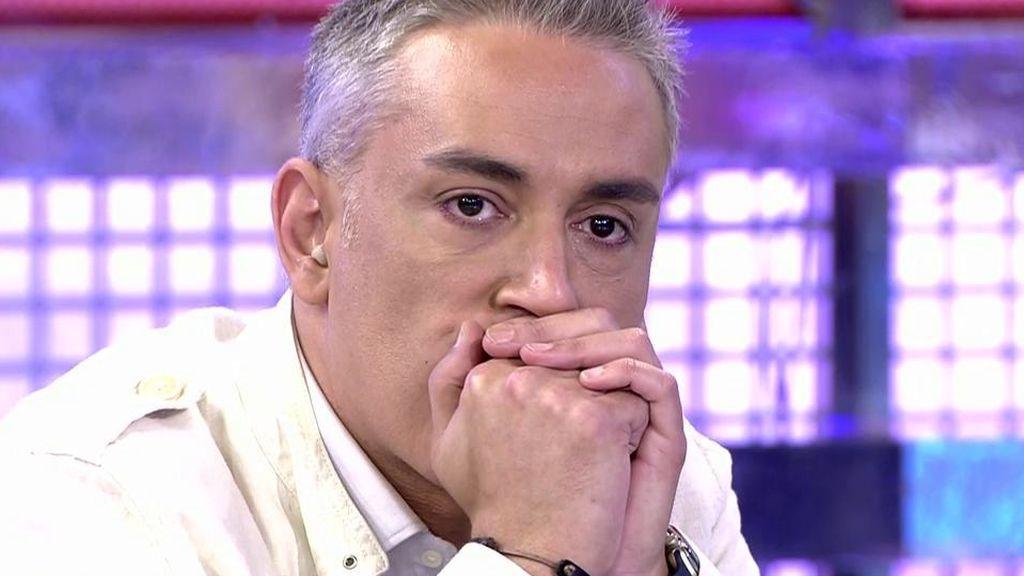 Kiko Hernández, espantat a 'Sálvame' - Telecinco
