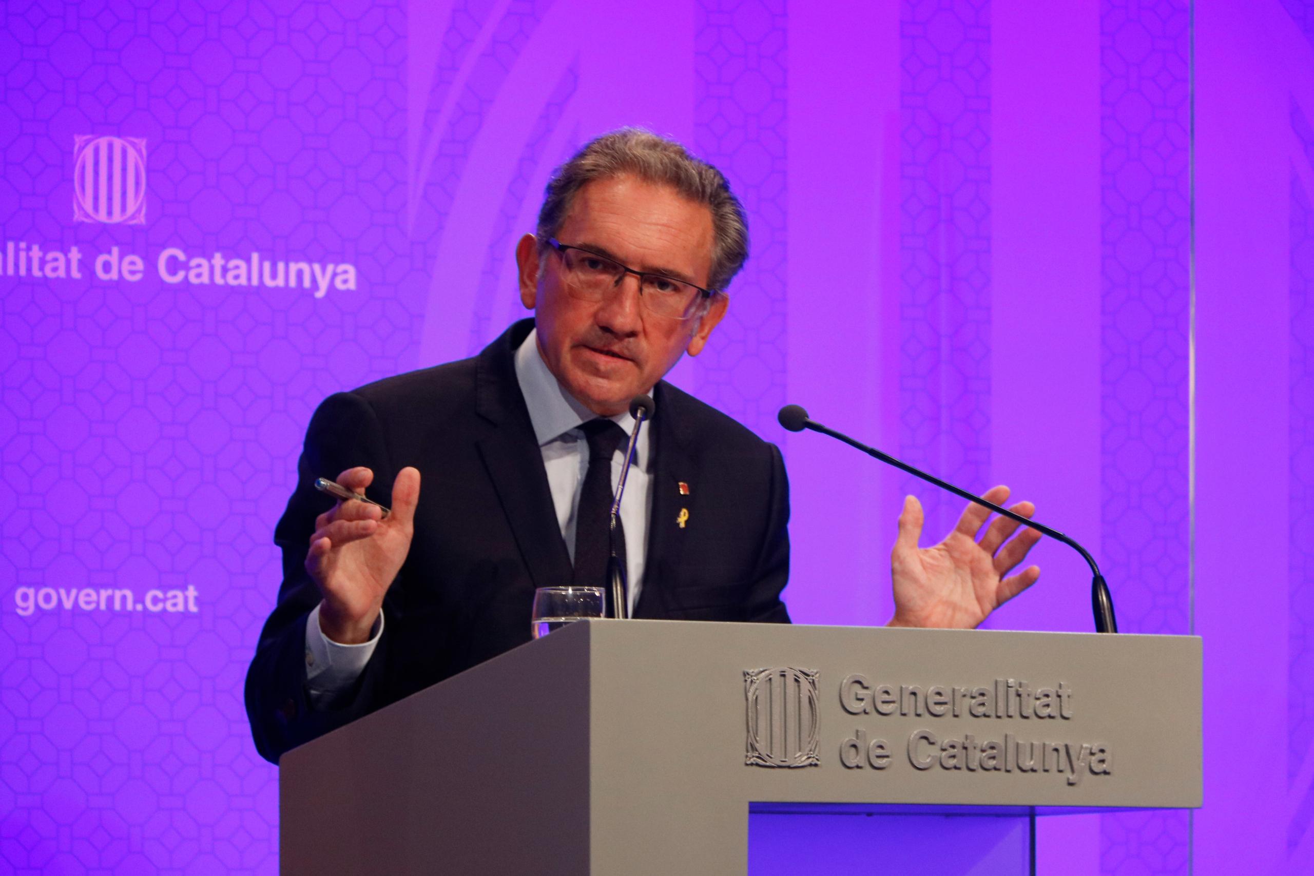 El conseller d'Economia i Hisenda, Jaume Giró   ACN