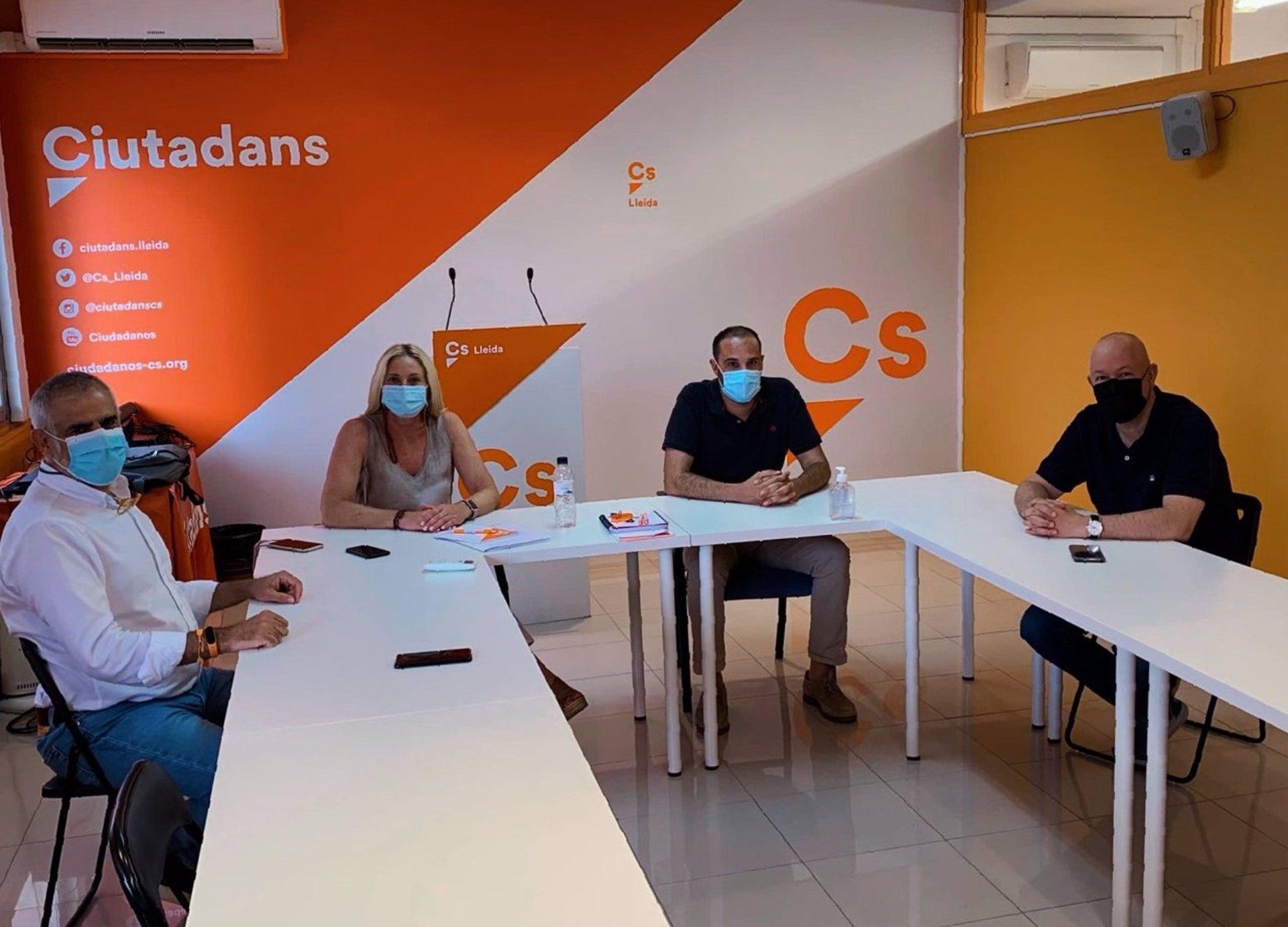 Carrizosa s'ha reunit amb Maria Burrel a Lleida / Europa Press