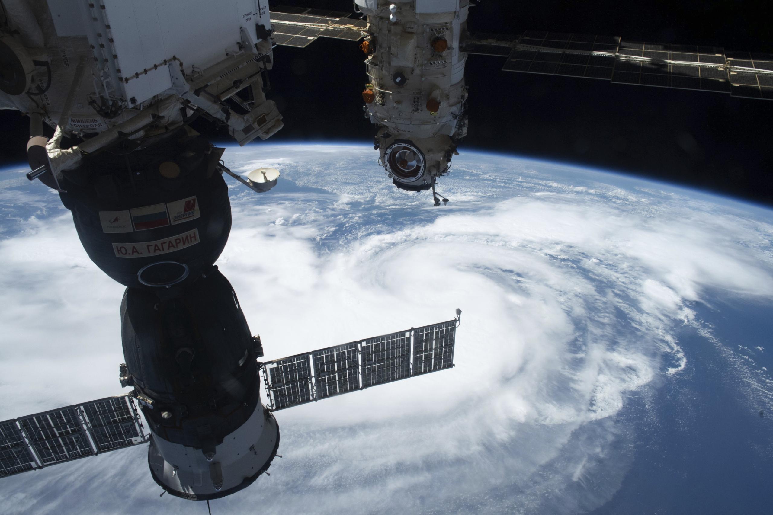 L'huracà 'Ida', vist des de l'espai   Europa Press