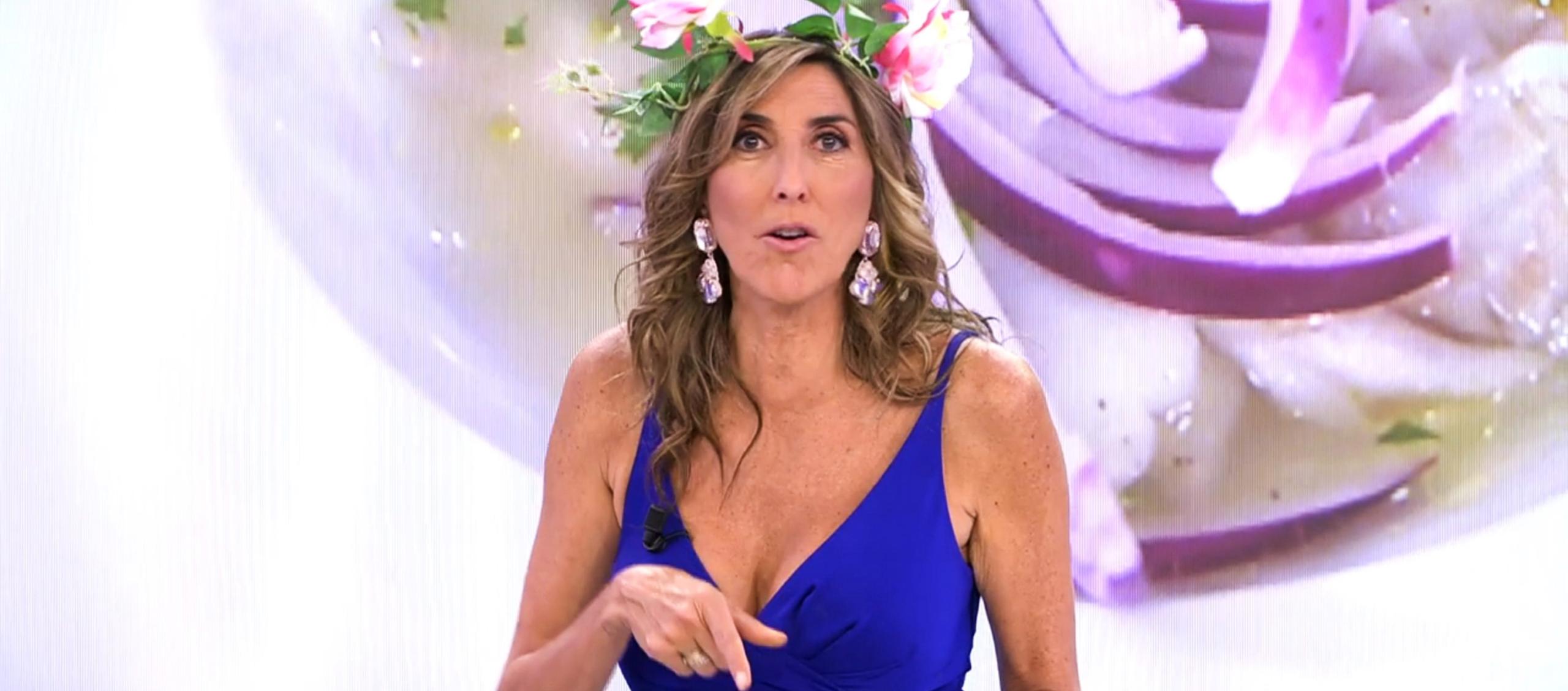 Paz Padilla presenta 'La última cena' - Telecinco