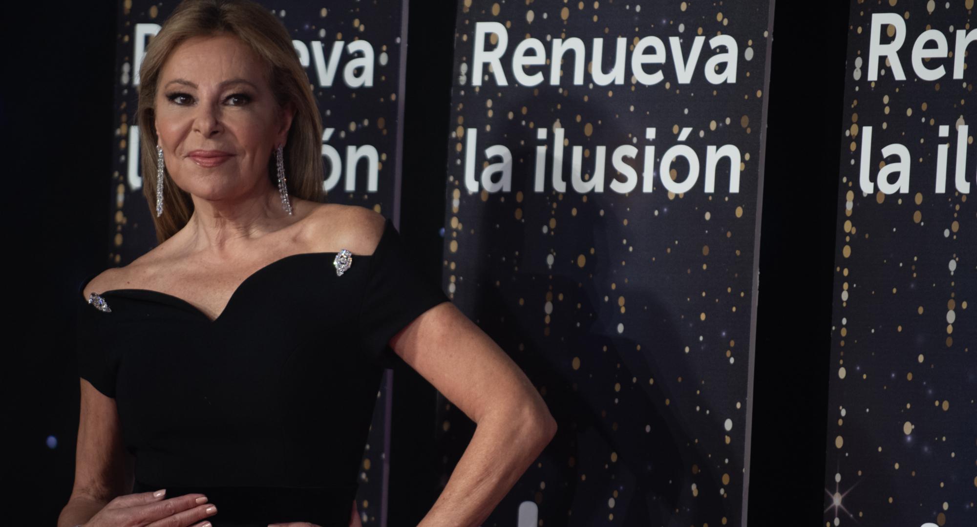 Ana Obregón, a la presentació dels programes de Nadal - Europa Press