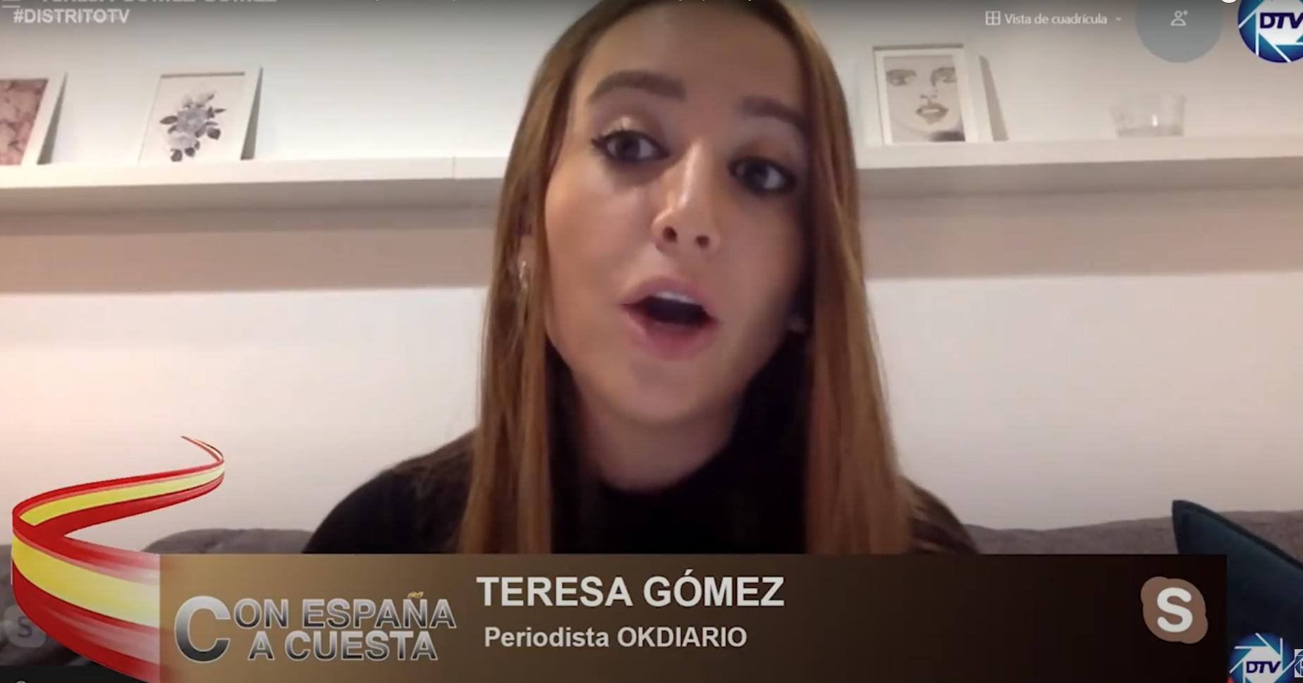La periodista Teresa Gómez
