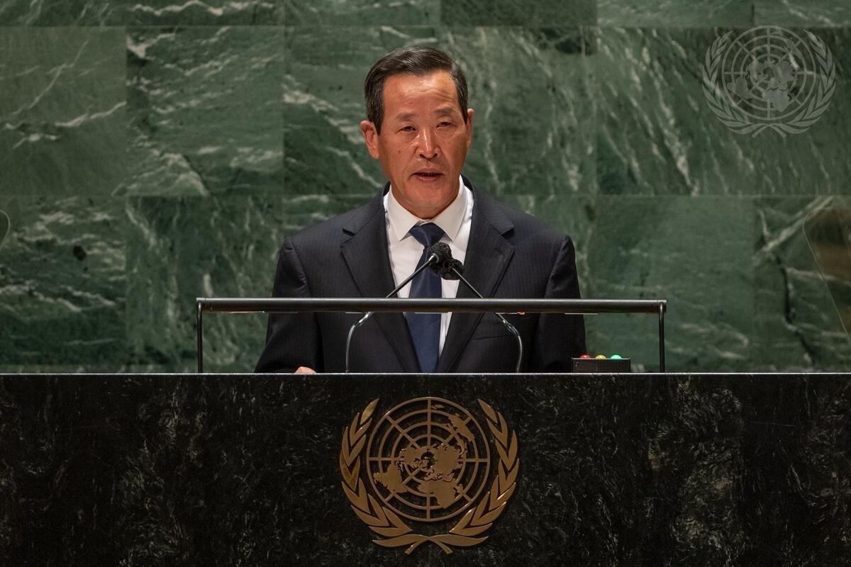 L'ambaixador de Corea del Nord a l'ONU, Kim Song