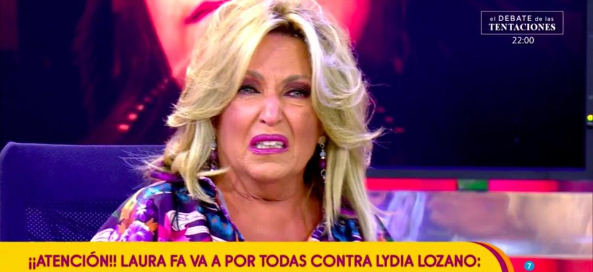 Lydia Lozano plora a 'Salvame', superada - Telecinco