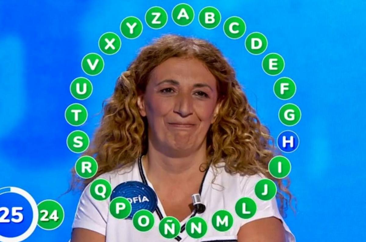 Sofia guanya 'Pasapalabra' - Antena 3