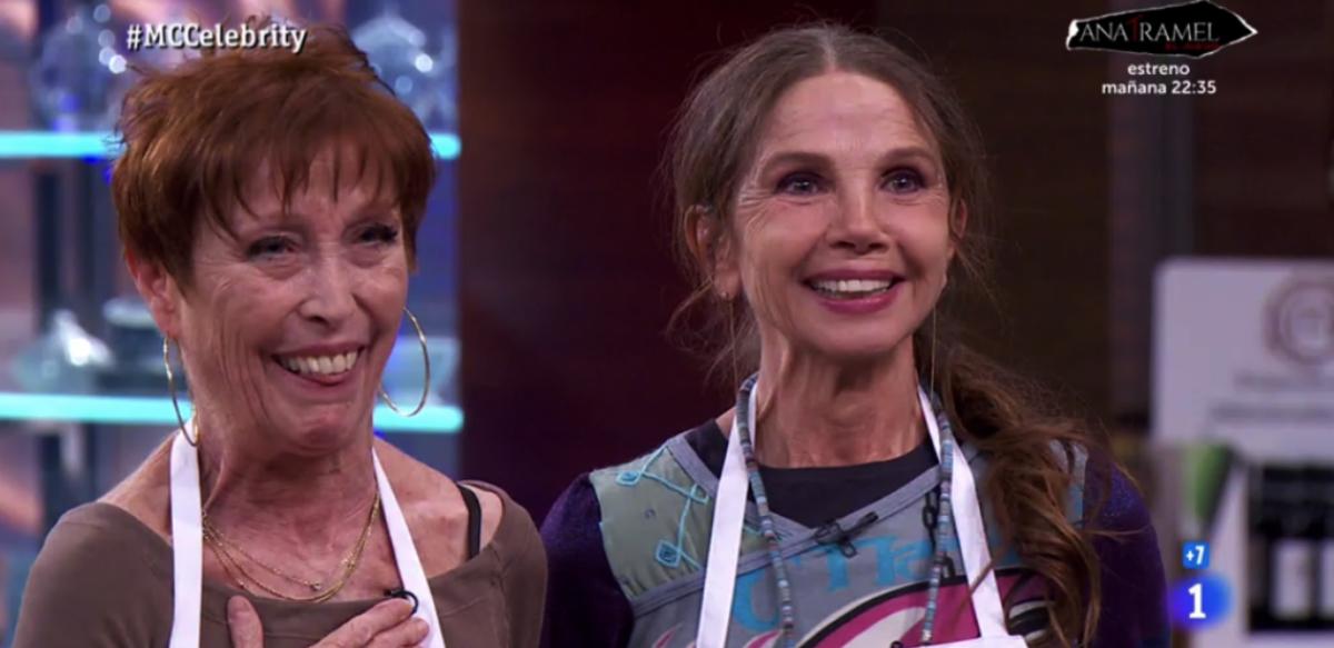 Veronica Forque i Victoria Abril a 'Masterchef' - TVE