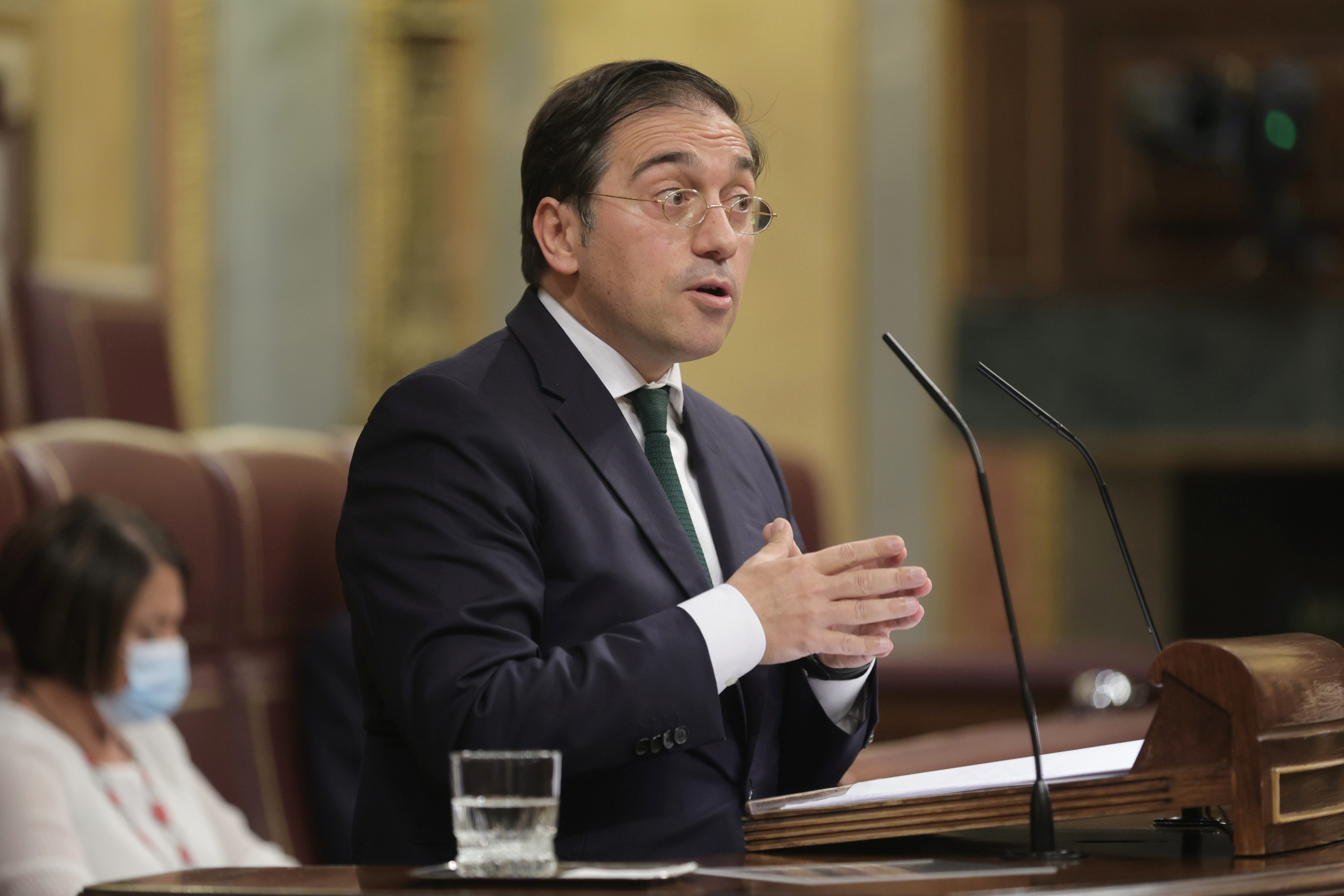 El ministre d'Exteriors, José Manuel Albares | Europa Press