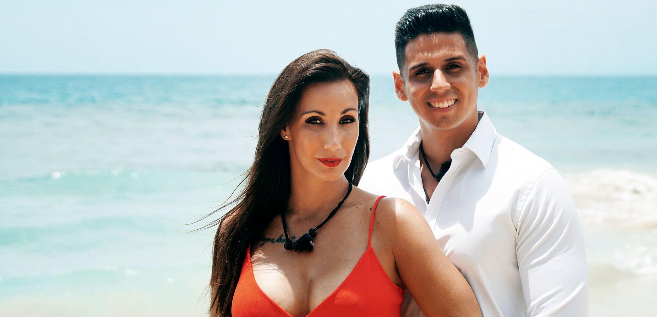 Fani i Christofer, en una foto promocional del programa - Telecinco