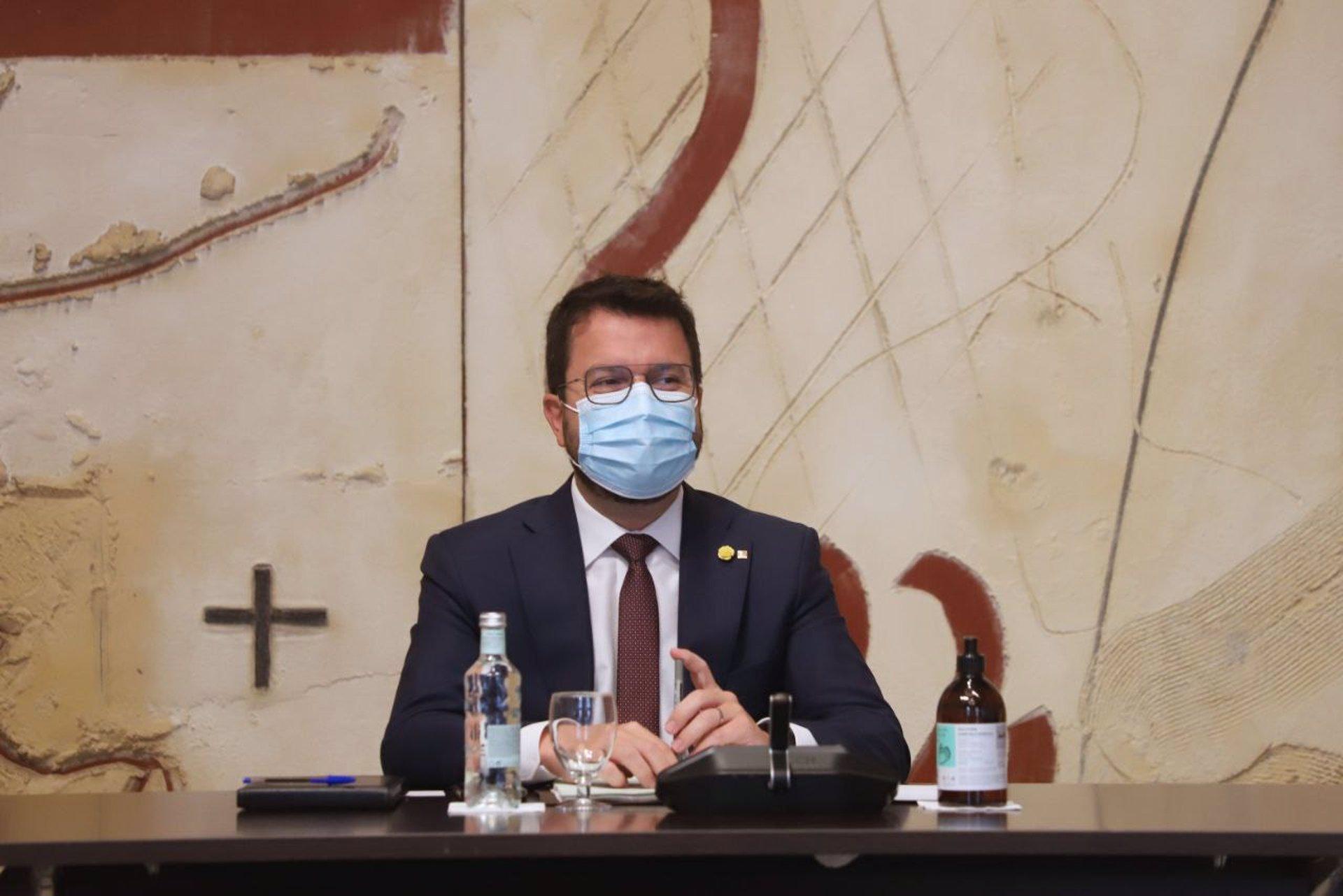 El president de la Generalitat, Pere Aragonès / Europa Press