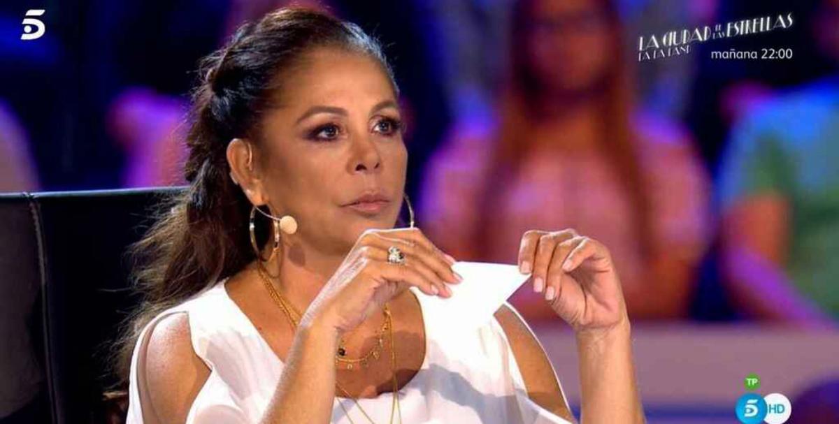Isabel Pantoja, acomiadada de Telecinco