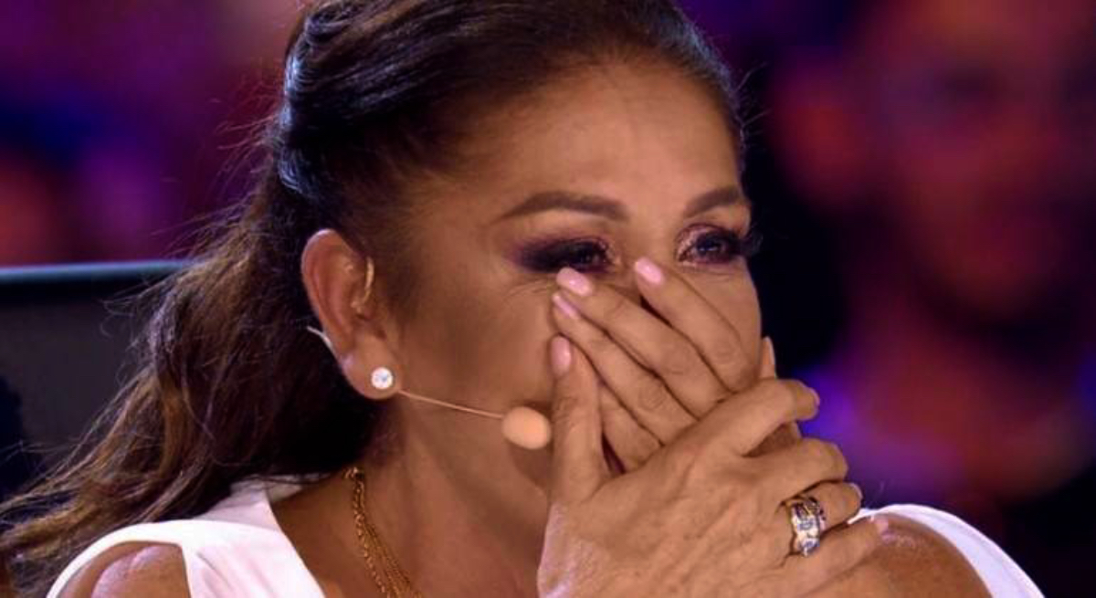 Isabel Pantoja plora a televisió - Telecinco
