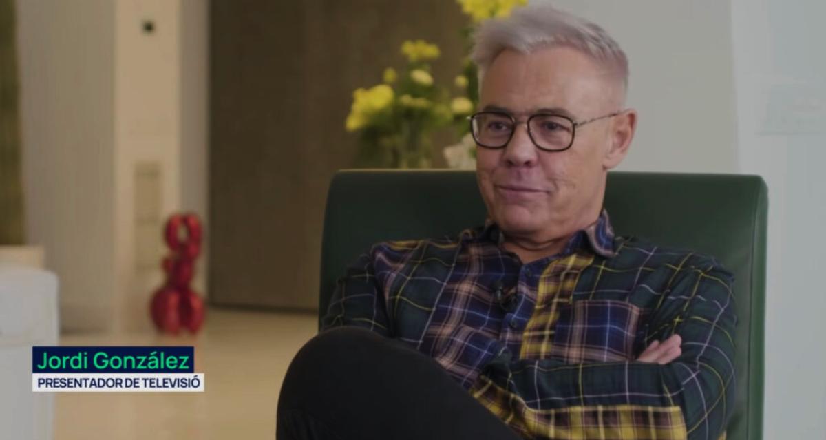 Jordi González, entrevistat a casa seva -TV3
