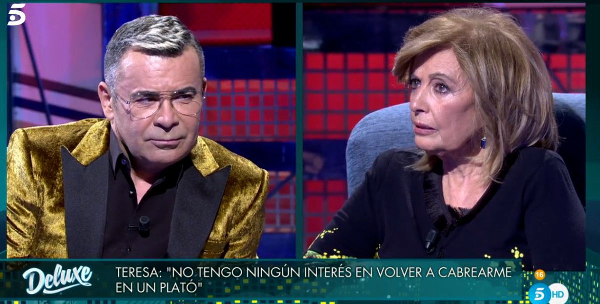 Jorge Javier entrevista María Teresa Campos - Telecinco